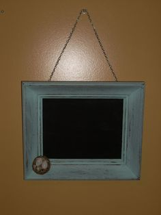 shabby cottage chic antique FRAME CHALKBOARD by COTTAGEGOLD, $42.00