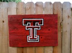 Texas Tech University Rustic Sign on Etsy, $28.00