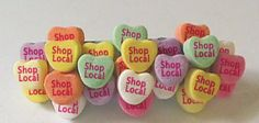 Local love!  Shop local this Valentine's Day!