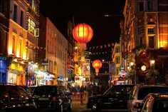 Locuri de munca in Anglia. Chinatown, London, Marea Britanie.