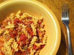 Crock Pot Spaghetti (or other pasta) Casserole