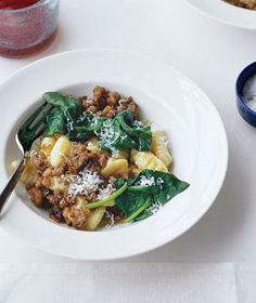 Gnocchi With Sausage and Spinach recipe