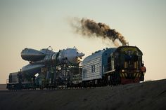 Expedition 19 Soyuz Rollout (200903240009HQ) by nasa hq photo, via Flickr