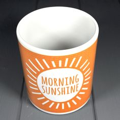 'Morning Sunshine' Mug £8.50