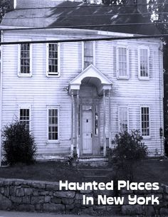 Complete list of haunted places & history in New York and where to ghost hunt. Have you ever dreamed of being a ghost hunter? How about visiting every haunted place in your territory? This book is everything you need to get you started in the world of ghost hunting! Click picture to see ebook.