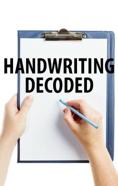 Handwriting expert Kathi McKnight said we can tell a lot about our health and personality just by looking at writing samples, as she explained to Dr Oz. http://www.recapo.com/dr-oz/dr-oz-advice/dr-oz-handwriting-depression-clue-handwriting-tell/