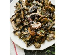 Eleven Delicious Vegetable Dishes  (via Baked Lemon and Thyme Mushrooms via Simple Provisions)
