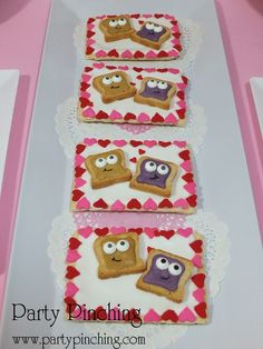 PB & J Cute Valentine Treats #valentine #treats