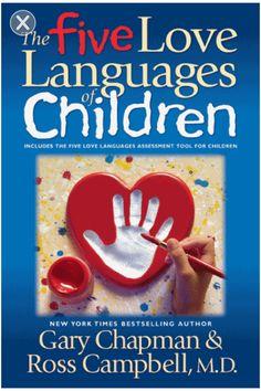 5 Love Languages For Children.