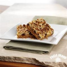 Seven Layer #Magic #Cookie Bars from Eagle Brand® Always loved these when I was younger. Will def make again soon!