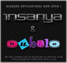 Insanya & [ bubble ] Blogger Applications Open | Flickr - Photo Sharing!