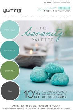 10% OFF The Serenity Palette! Use Promo Code SER10 At Checkout