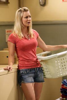 Kaley Cuoco as Penny.