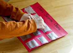 Scratch-Off Chore Chart For Kids. How do you make chores fun at your house?
