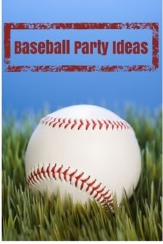 Baseball Party Ideas For Kids #Baseball #Party http://www.momsandmunchkins.ca/2012/07/30/baseball-party/