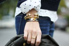 Stella & Dot, Kate Spade and Hermes Baubles