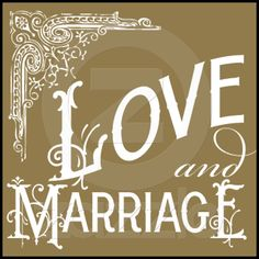 Vintage Ornate - Love & Marriage - Gold Postage from Zazzle.com