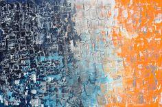 "'Night to New Day' by Linda Bailey | $250 | 36""w x 24""h | Original Art |"