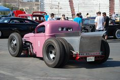 pink pickup truck | PINK FORD RAT ROD PICKUP TRUCK | Flickr - Photo Sharing! rat rods, pickup trucks, ford rat