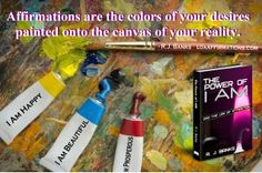 What colors are you painting your life with? Grab your brush and come paint with us!   https://www.facebook.com/LOAAffirmations