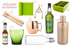 #giftguide for the bartender // www.jojotastic.com
