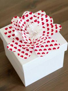 Pretty Paper Flowers - Easy Handmade Valentine's Day Crafts on HGTV