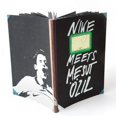 Nike meets mesut Özil nike, football, rocket + wink, design, illustration, book, notebook
