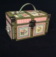 How to Make a Graphic 45 Mini Trunk