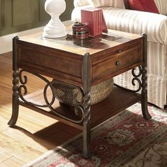 Have to have it. Riverside Medley End Table $546.75