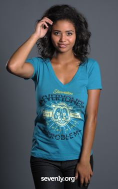 A cute shirt for you, food for a WHOLE MONTH for a starving child in the Philippines... Shop for a cause!! >>> http://www.sevenly.org/?cid=SEVPinterestSevenly