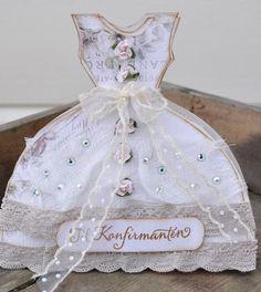 card idea, dress form, dress card, dresses, craft vestido, dress art, gift cards, paper dress, beauti card