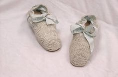 Ida Saxton McKinley crocheted these light blue wool bedroom slippers for Dr. Edward O. Morrow, an original staff member of the Aultman Hospital in Canton, Ohio. They were one of an estimated 4,000 pairs McKinley made and distributed to friends, veterans, and orphans or sold at auction to raise money for charity.  These slippers are in the collection of the McKinley Presidential Library & Museum and were pinned from the Ohio Memory Project.