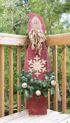 instant download primitive wood pattern kringle