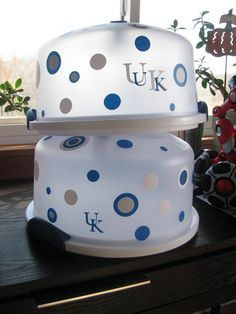 Personalized UK Cake carriers!!