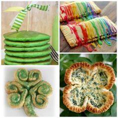 21 St. Patrick's Day Breakfast Recipes : Spoonful  #StPatricksDay