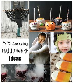 55 Amazing Halloween Ideas: Recipes, Costume Tutorials, Crafts