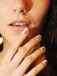 New York #fashionweek Nail Trends!