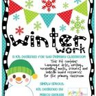 This printable Winter themed kit is designed for the primary classroom. These colorful winter themed activities will brighten up those walls durin...