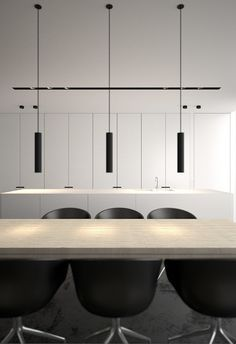 Kitchen by Belgian interior architects AD Office.