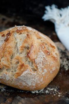 Crazy Easy Artisan Bread! | FoodsOfOurLives.com
