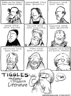 The Shakespeare problem, solved. comic strips