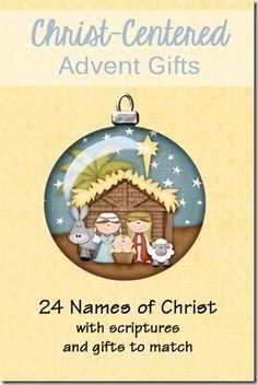 church, christ centered christmas, famili, chrsit center, names
