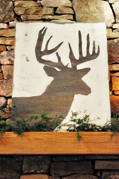 DIY Deer Sign