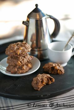 Chocolate-Butterscotch Oatmeal Cookies
