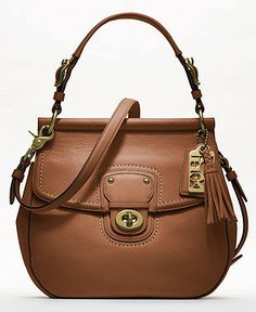 Coach Leather New Willis handbag