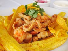 Jalea de mariscos con chifle - Segundo - comida peruana. recipe in english - peruvian food
