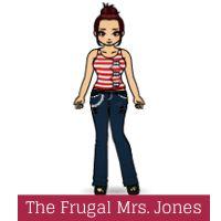 The Frugal Mrs. Jones