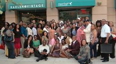 2010 Black Pack Party group shot Hosted by Nectar Wine bar in Harlem