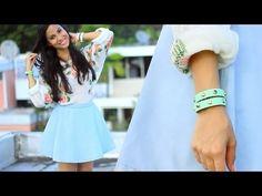 Studded Wrap Bracelets DIY