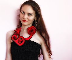 Collar Necklace and Rose  Choose from 36 by magdamagdaFashion, $24.90